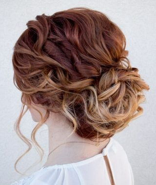 Curled Updo Hairstyles