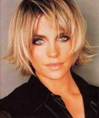 Blonde Longer Face-Framing Layers Hairstyles
