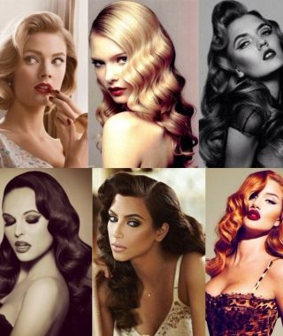 Retro Curls Hairstyles