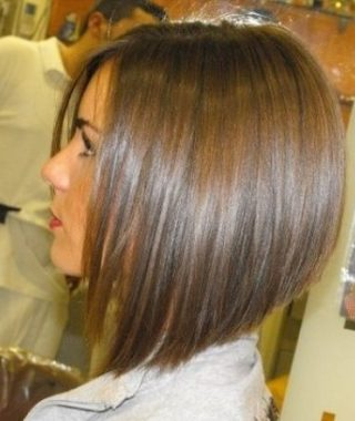 Graduated Angled Bob Hairstyles