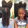 Tightly Coiled Gray Dreads Bun Hairstyles (Photo 7 of 25)