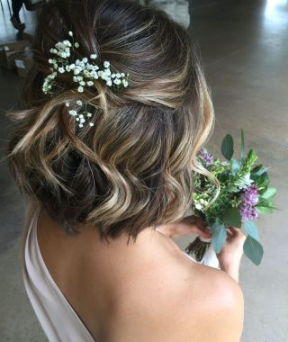 Short Hairstyles For Bridesmaids