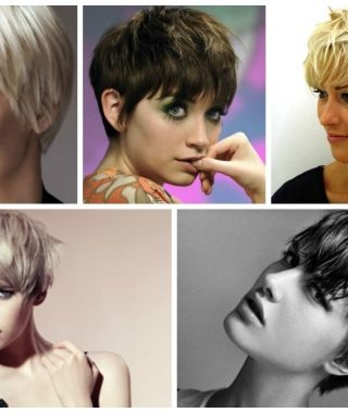 Pixie Hairstyles With Long Fringe