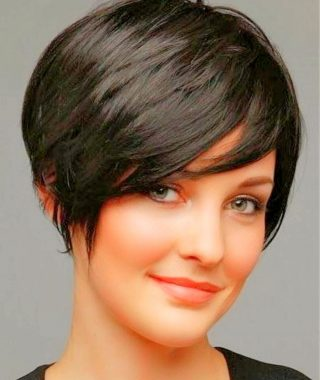 Super Short Pixie Hairstyles For Round Faces
