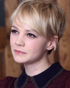 Pixie Hairstyles With Long Side Swept Bangs