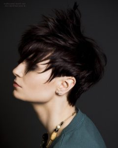 Tapered Pixie Hairstyles