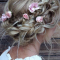 Double Braid Bridal Hairstyles With Fresh Flowers