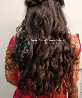 Cascading Silky Waves Hairstyles