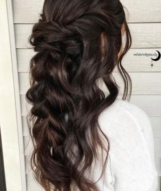 Long Hair Half Updo Hairstyles