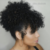 Natural Bangs Updo Hairstyles (Photo 3 of 25)