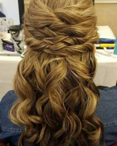 Sectioned Twist Bridal Hairstyles