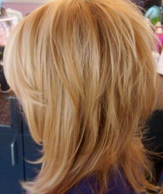 Shaggy Layers Hairstyles For Thin Hair