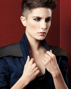 Pixie Hairstyles With Shaved Sides