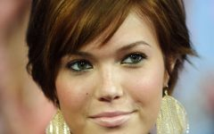 Short Haircuts For Round Face Women
