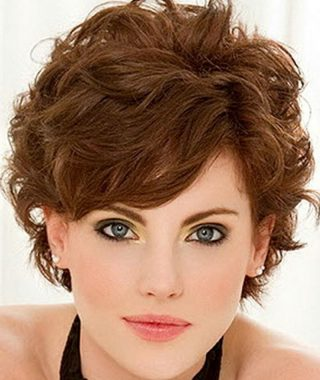 Short Fine Curly Hairstyles