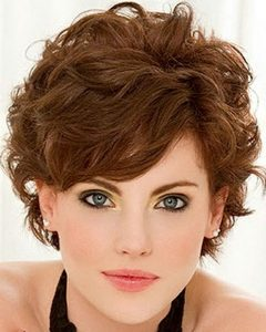 Short Haircuts For Curly Fine Hair