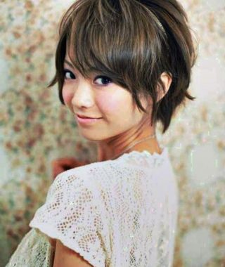 Short Hairstyles For Asian Round Face