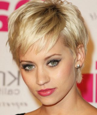 Short Haircuts For Thin Faces