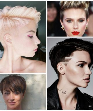 Rock Pixie Hairstyles