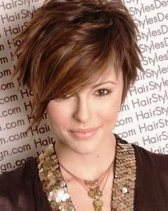 Short Haircuts For Fat Face