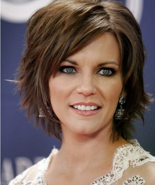 Layered Short Hairstyles With Bangs