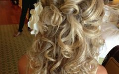 Bridal Hairstyles For Medium Length Curly Hair