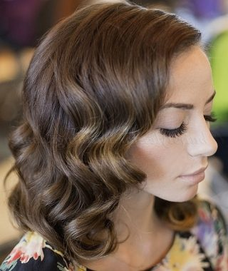 Wedding Hairstyles For Shoulder Length Wavy Hair