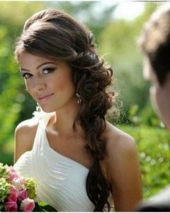Side Braid Wedding Hairstyles