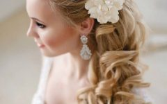 Curls To The Side Wedding Hairstyles