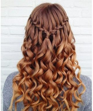 Waterfall Braids Hairstyles