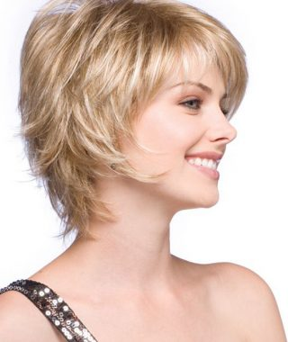 Feathered Back-Swept Crop Hairstyles