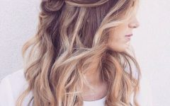 Braided Wedding Hairstyles With Subtle Waves