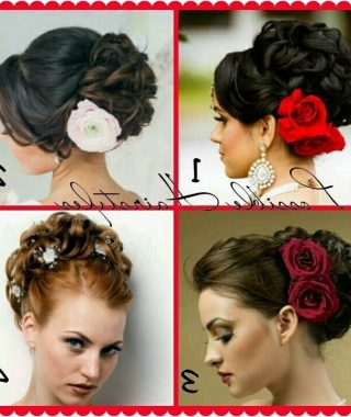 Spanish Updo Hairstyles