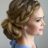 Stacked Buns Updo Hairstyles (Photo 10 of 25)