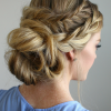 French Braid Low Chignon Hairstyles (Photo 9 of 25)