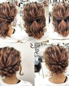 Updo Hairstyles For Medium Curly Hair