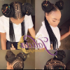 Jalicia Cornrows Hairstyles (Photo 9 of 15)