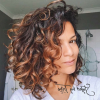 Brown Curly Hairstyles With Highlights (Photo 2 of 25)