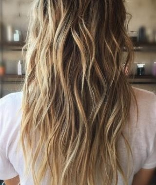 Bronde Beach Waves Blonde Hairstyles