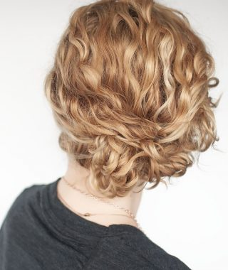 Hair Updos For Curly Hair