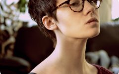 Short Haircuts For Girls With Glasses