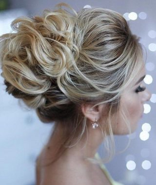 Medium Hair Prom Updo Hairstyles