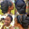 Natural Black Hair Updo Hairstyles (Photo 5 of 15)