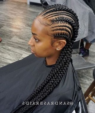 Cornrows Hairstyles To The Back