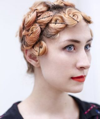 Pinned Curls Hairstyles