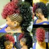 Braided Mohawk Hairstyles With Curls (Photo 8 of 25)