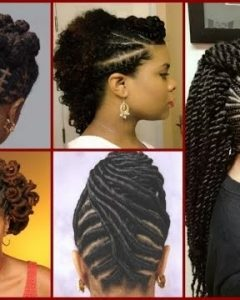 Natural Cornrows And Twist Hairstyles