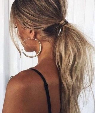 Low Ponytail Hairstyles