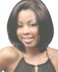 Medium Hairstyles For Round Faces African American