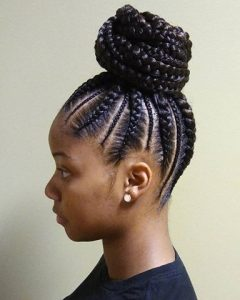 Cornrow Hairstyles Up In One